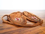 Native American Beaded Leather Moccasins ~ Plains Tribes