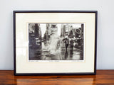 "Original Signed Chaim Kanner Photograph ~ ""Times Square"" NY 1988"