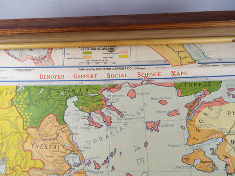 Vintage 1950s Pulldown Map Display Case on map cigarette case, map china, map stand, gps case, map banner, map jacket, map northern hemisphere, map cabinet, map presentation case, map tools,