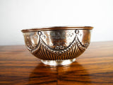 Antique 1881 Victorian British Sterling Silver Bowl