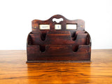 Original Edwardian British Perpetual Calendar Desk Organizer 1900 Arts & Crafts