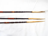 Antique Cassowary Bone Tipped Arrows ~ Papua New Guinea