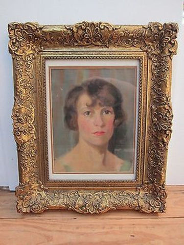 Vintage Oil on Canvas Portrait Painting by Van de Witt Copeland of Von Billow - Yesteryear Essentials  - 1