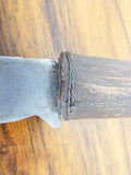 Antique 19th C Native American Indian Trailing Blade Knife