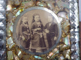 Antique Photograph ~ Commodore Nutt & Warren Sisters