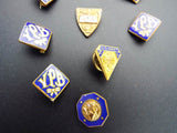 Vintage Collection Temperance Pins YPB ATS Masonic Pins Lapel Badges 1910 1940s