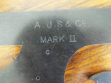 Antique British AJS & Co Tools Stencil Design