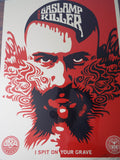 Original Signed Fairey Shepard Gaslamp Killer Poster - Limited Edition