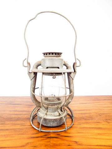 Antique 1900s New York Central System Lamp
