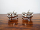 Georgian British Sterling Silver Open Salts