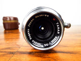 Original Vintage Tanaka Kogaku Japan f:3.5 35mm Tanar Camera Lens No. 35154