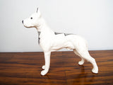 Native American Acoma Pottery Great Dane Dog Sculpture ~ JJ