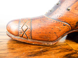 Antique Pincushion Shoe ~ 19th C  English Sewing Accessory