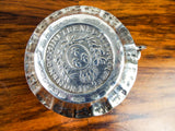 Antique Coin Silver Ashtray