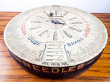 Antique Boye Needle Large Round Advertising Needle Store