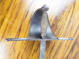 Antique Main Gauche European Sword Trefoil Blade