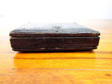 Antique Civil War Era US Grant Thermoplastic Presidential Token Leather Case