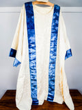Vintage Religious Catholic Church Priest Dalmatic & Stole Clergy Vestments 1940s