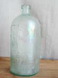 Antique 1800s Buffalo Water Lithia Glass Bottle ~ Edward H Everett