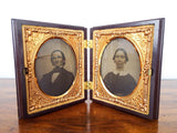 Antique 9th Plate Daguerrotypes Portrait Photo