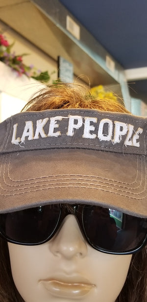 28fec5f7d97421 Lake People - Adjustable Visor – CFJ Jewelry Gifts and more