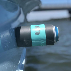Non-Tipping Can Cooler - Teal (WEBSITE ONLY)