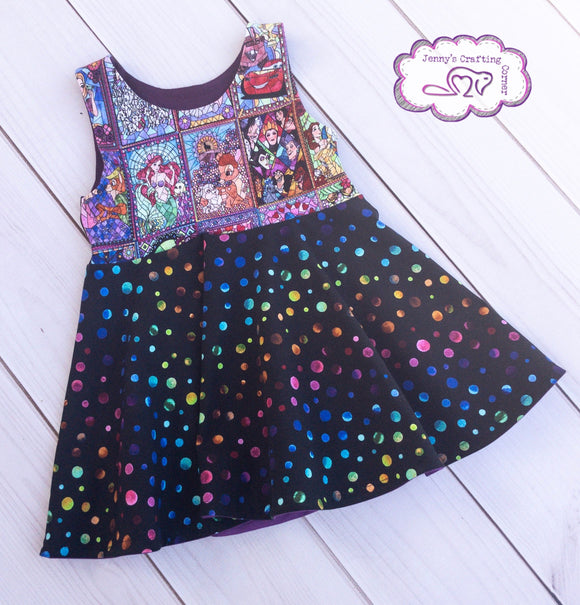 4t, Empire waist dress