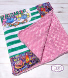 Child border blanket - Honey Dukes