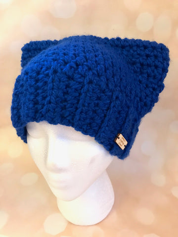 Pussy Hat Project - Blue
