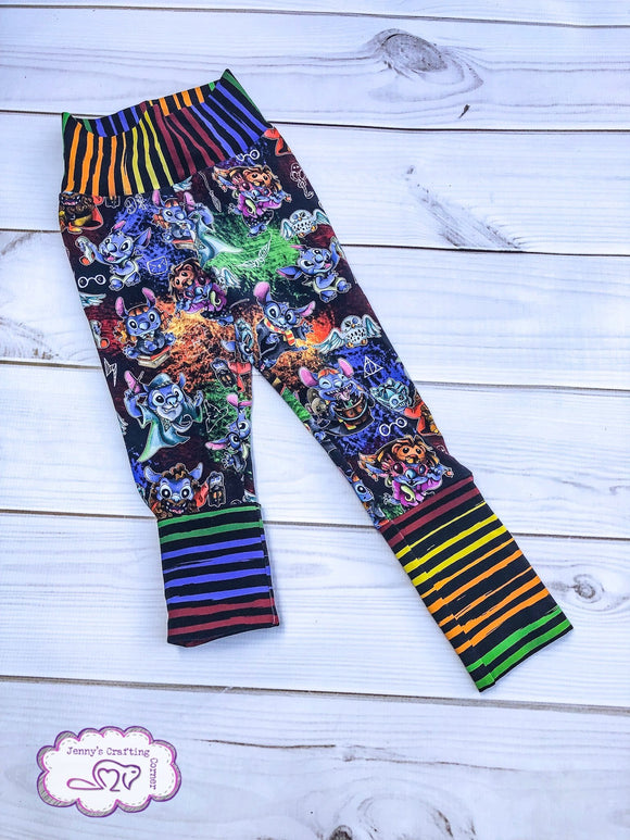 12m-3t, Grow Along Leggings,  RTS