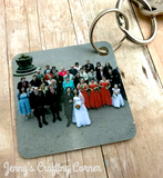 Customized Wedding Key Chains