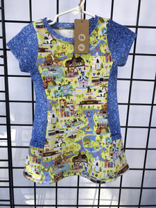3t tunic w/pockets,  RTS