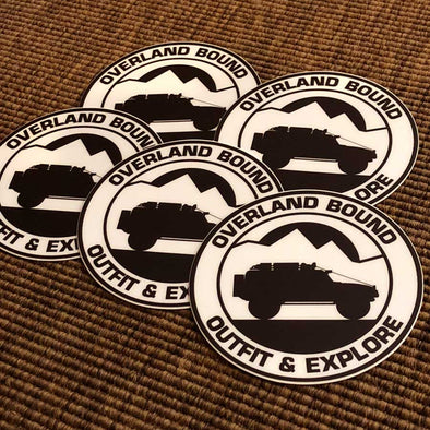 Overland Bound Sticker - Pack
