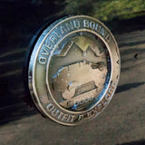 Two Overland Bound Emblems: Member Duplicate