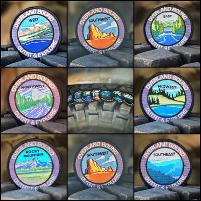 Overland Bound Regional Patches