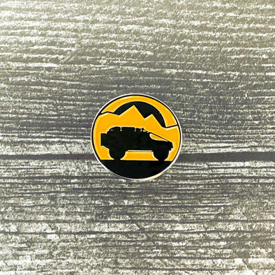 Overland Bound One Lapel Pin