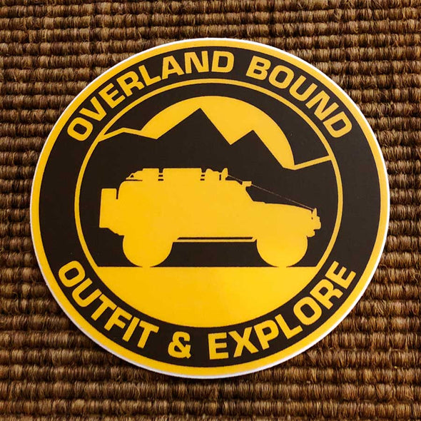 Overland Bound Sticker - Single