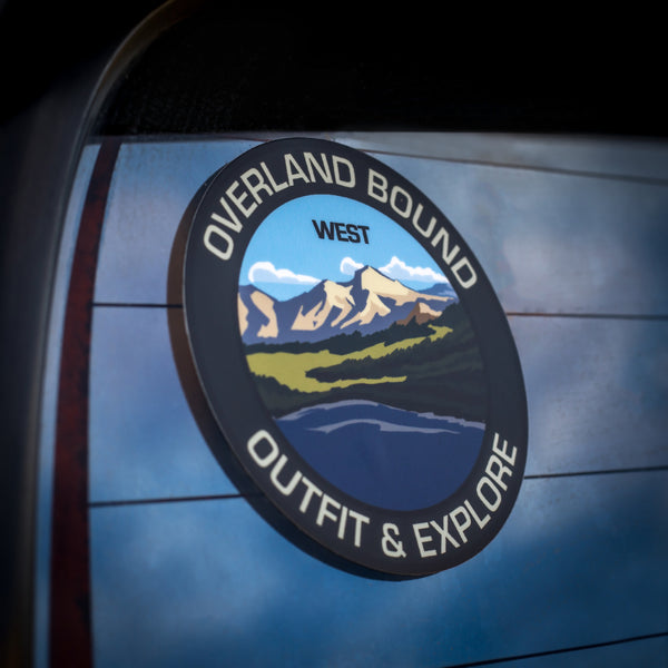 Overland Bound Regional Stickers