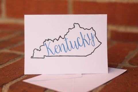 White Kentucky Cards