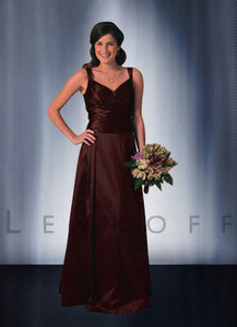 Bill Levkoff Sable Color Dress - Concepcion Bridal & Quinceañera Boutique