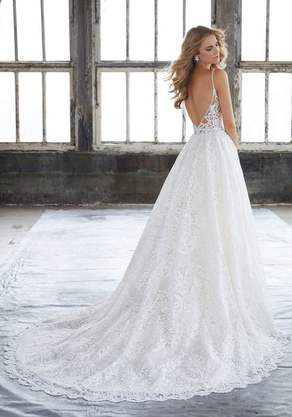 #8204 Kasey Wedding Dress - Concepcion Bridal & Quinceañera Boutique