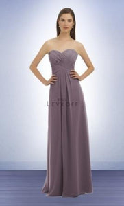 Victorian Lilac Chiffon Formal Dress