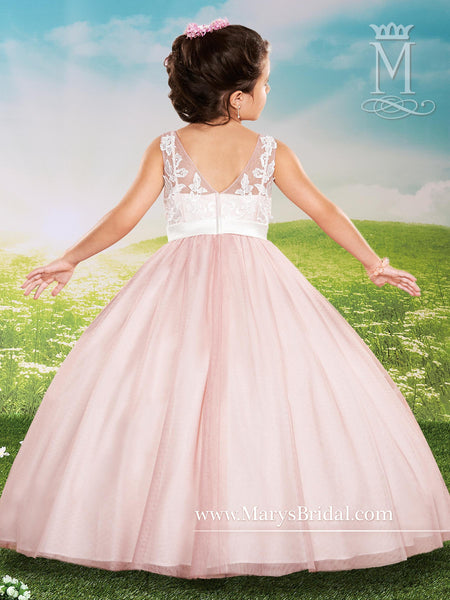 Bow Front Girl Dress - Concepcion Bridal & Quinceañera Boutique