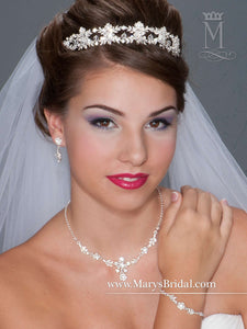 Bridal Jewelry & Tiara Set - Concepcion Bridal & Quinceañera Boutique