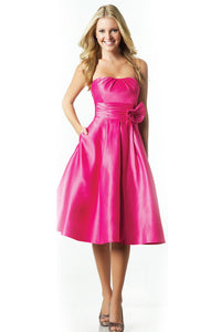 Fuchsia Bridesmaid Dress - Concepcion Bridal & Quinceañera Boutique