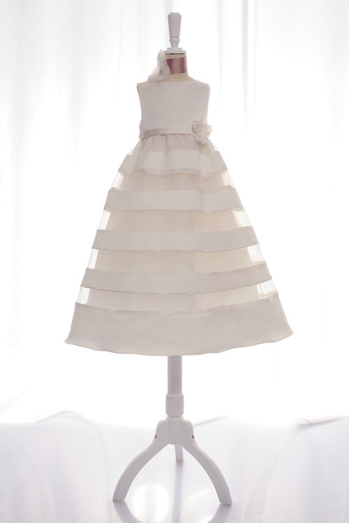 Eden Bridal Ivory Flower Girl Dress - Concepcion Bridal & Quinceañera Boutique