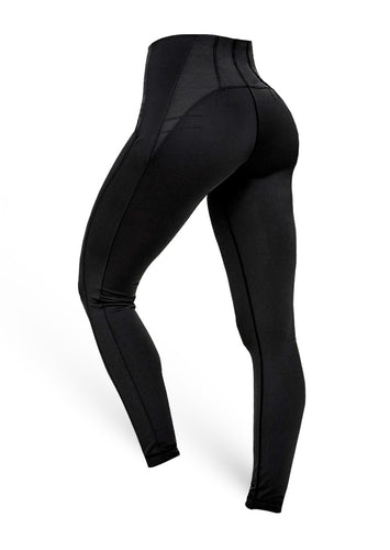 The Brazilian Butt Push Up Tummy Control - Black - AcaiBerryFashion
