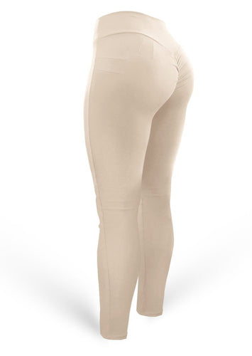 Push Up Pants Scrunch Mix Light Nude (Light Dri-fit) - AcaiBerryFashion