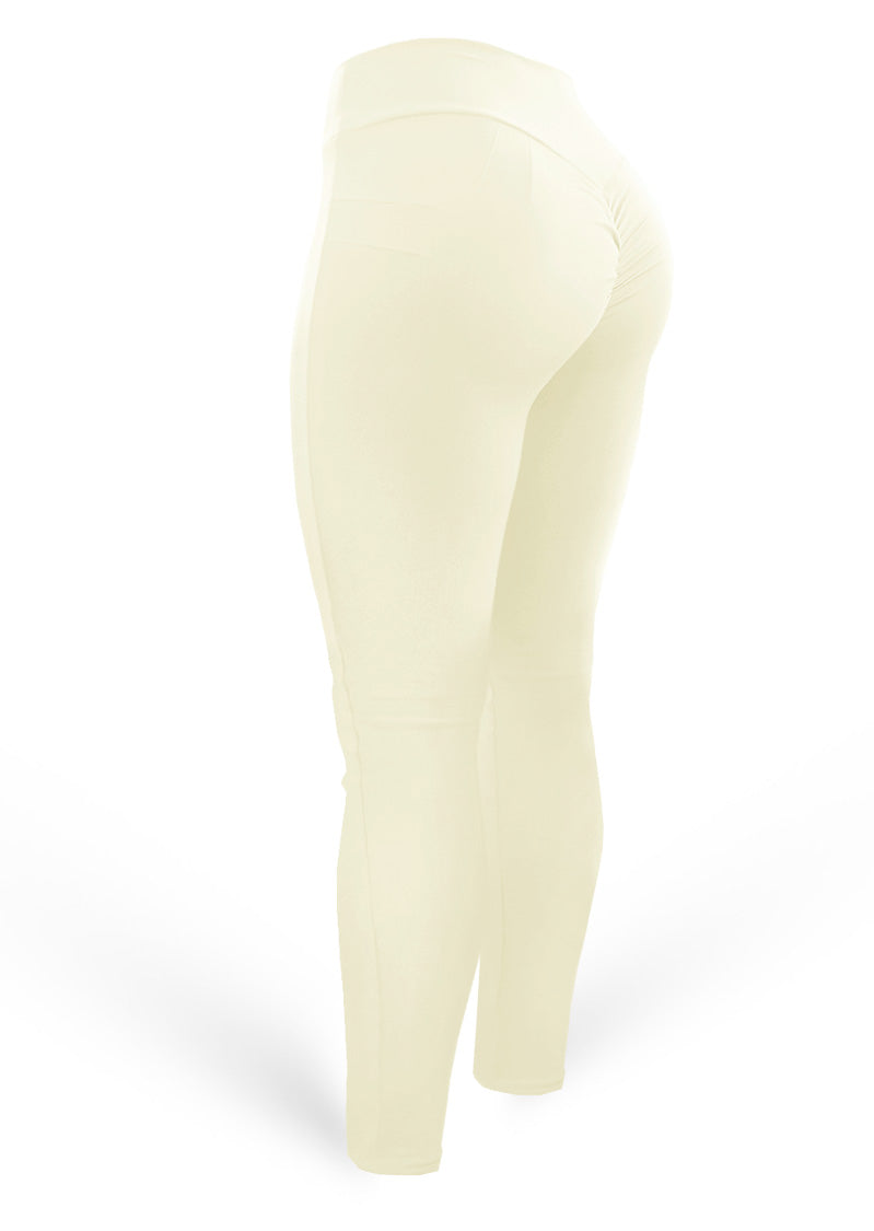 Push Up Pants Scrunch Mix Vanilla Bean (Light Dri-fit) - AcaiBerryFashion