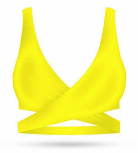Lea Top - Yellow - AcaiBerryFashion